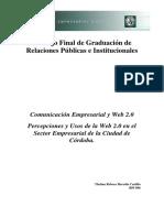 Comunicacion Empresarial y Web2.0