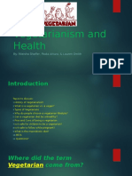 vegetarianisn and health