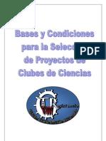 Bases y Condiciones Selección de Proyectos