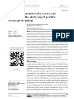 The Role of Community Pharmacy-Based Vaccination in the USA