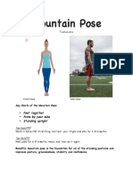 yoga pose packet