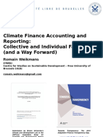 Climate Finance Accounting and Reporting