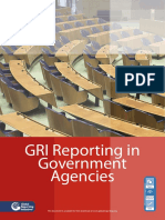 GRI Reporting in Government Agencies