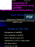 Vipul_Implementation of GA Using LabVIEW_SPECTRA_TEQIP2_SVNIT (1)
