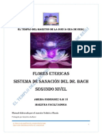 Manual Flores Etericas Nivel 2 El Templo