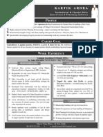 Institutional & Educational Sales - Kartik Arora (Resume)