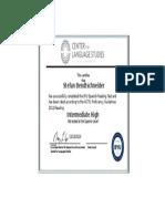 stefan bendtschneider rpt certificate