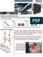 Recommended Busduct Installation