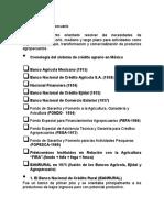 Credito Agropecuario FIRA-FND