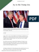 Global Stability in the Trump Era