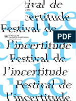 Le Festival de l'Incertitude