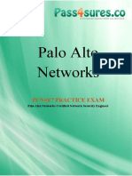 4c415-Pcnse7-Palo Alto Networks Certified Network Security Engineer