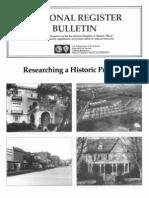 National Register Bulletin 39