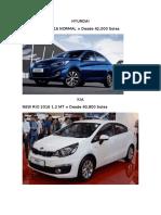 Cotizacion de Autos a Futuro