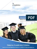 Manual de Certificación - Edutiva ERP