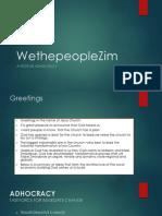 The Zimbabwe Industrial Revolution plan