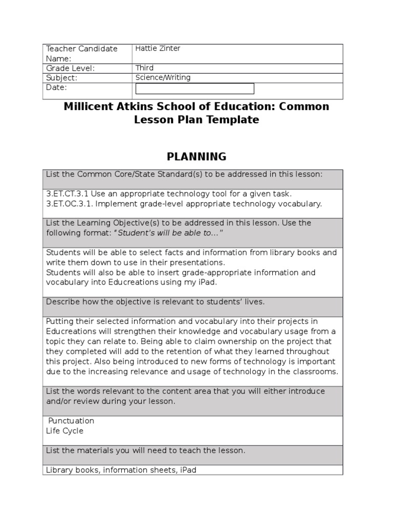 Stunning School Technology Plan Template Contemporary - Entry Level ...
