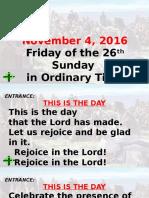 Chorus Angelicus_Ordinary Season