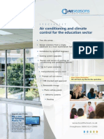Air Conditioning and Climate Control for the Education Sector