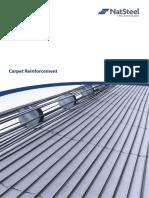 NatSteel Carpet Reinforcement Brochure