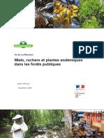 ONF LaReunion Rapport Final Mellifere 2009