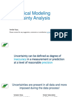 Uncertainty Analysis in Geological Modeling-libre