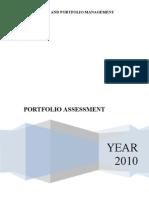 Portfolio Analysis by M.Yasir