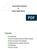 Communication Systems in Power Applications