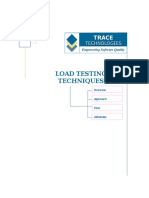 Load Testing Techniques