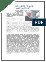 Caso Clinico Anafilaxia