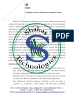 ALTERDROID Differential Fault Analysis of Obfuscated Smartphone Malware