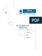 Scalability Testing Approach