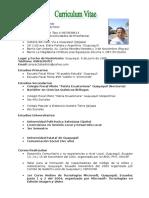 Curriculum Vitae Andres1