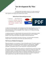 Detail of Market Development by Nino Joseph Mihilli