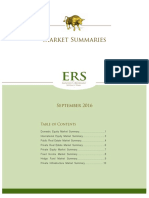 Market Summaries