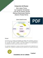 Cadena Cliente - Proveedor y Recoleccion de Datos