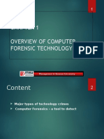 Chap1-Overview of Computer Forensic Technology