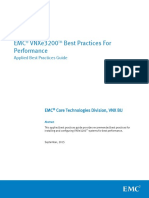 EMC Vnxe3200 Best Practices for Performance Wp