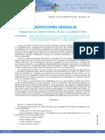 Cantabria - Normativa de pesca continental 2017