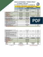 Calendario Academico Reformulado 2015