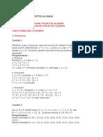 Contoh Soal Struktur Aljabar