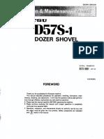 KOMATSU D57S-1