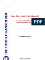 Paper Tiger Meets White Elephant? An analysis of the effectiveness of the Mekong Regime