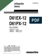 Manual Operación KOMATSU D61EX,PX-12