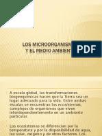5. Los Microorganismos y El Medio Ambiente