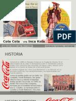 Cola Cola Vrs Inca Kola