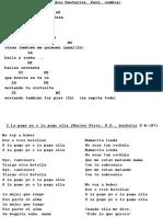 Gitaarakkoorden en Teksten CD 43 Latin Mix