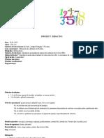PROIECT Matematica Cl a III-A