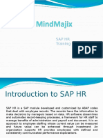 SAP HR Training