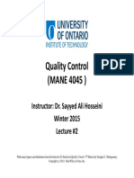 02 Quality Control Lecture #2